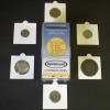 Assorted Sizes  for US Coins- contains 15 of the Penny/Dime size and 7 each for