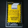 Supersafe Hinges- package of 1000, pre-folded.