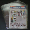 "1 Pocket Vinyl Page.  Pocket measures 11 1/8"" x 8 3/4"". Pack of ten. Regularly $"
