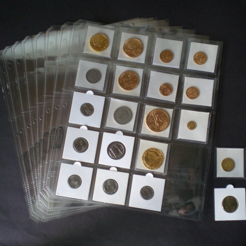 Archival 20 Pocket Pages for 2 x 2 Coinholders and flips. Our new page features