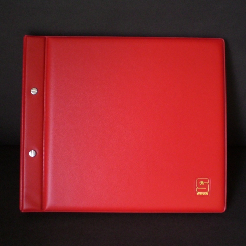 FDC Album #10 Cover Size.Red Cover.  Pocket Size 4 1/2