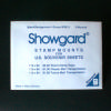 Black Showgard Mounts for World Stamp Expo Souvenir Sheets (3)