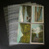 4 Pockets-Postcards- Holds items up to 3 5/8